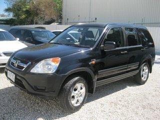 2004 Honda CR-V RD MY2004 4WD Black 4 Speed Automatic Wagon.