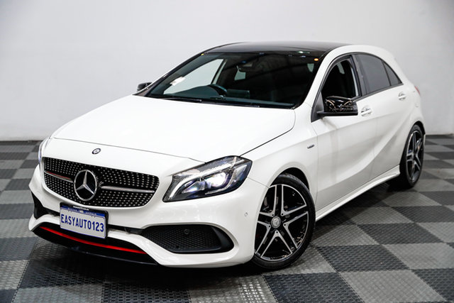 Used Mercedes-Benz A-Class W176 806MY A250 D-CT 4MATIC Sport Edgewater, 2016 Mercedes-Benz A-Class W176 806MY A250 D-CT 4MATIC Sport White 7 Speed