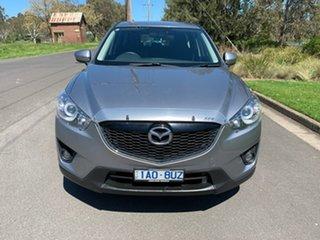 2013 Mazda CX-5 KE Series Maxx Sport Silver Sports Automatic Wagon.