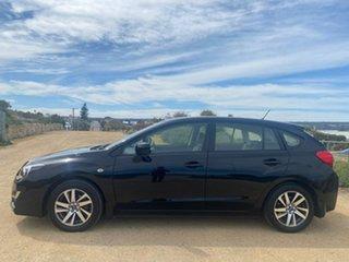 2015 Subaru Impreza G4 MY15 2.0i Lineartronic AWD Premium Black 6 Speed Constant Variable Hatchback