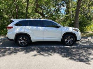 2018 Toyota Kluger GSU55R GX AWD White 8 Speed Sports Automatic Wagon