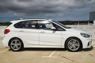 2016 BMW 2 Series F45 218d Active Tourer Steptronic M Sport White 8 Speed Automatic Hatchback.