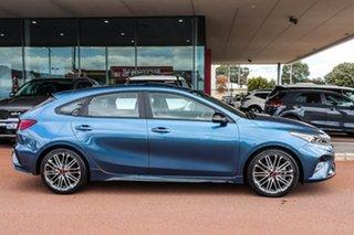 2021 Kia Cerato BD GT Blue Sports Automatic Dual Clutch Hatchback