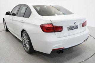 2018 BMW 3 Series F30 LCI 320i M Sport Alpine White 8 Speed Sports Automatic Sedan.
