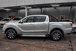 2014 Mazda BT-50 UP0YF1 GT Silver 6 Speed Sports Automatic Utility.
