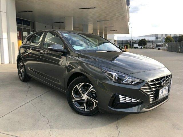 Used Hyundai i30 PD.V4 MY21 Ravenhall, 2020 Hyundai i30 PD.V4 MY21 Amazon Gray 6 Speed Sports Automatic Hatchback