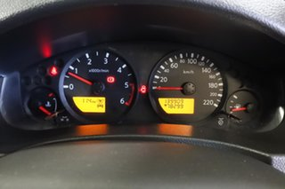 2013 Nissan Navara D40 S7 MY12 RX White 6 Speed Manual Cab Chassis