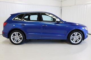 2016 Audi SQ5 8R MY17 TDI Tiptronic Quattro Blue 8 Speed Sports Automatic Wagon.