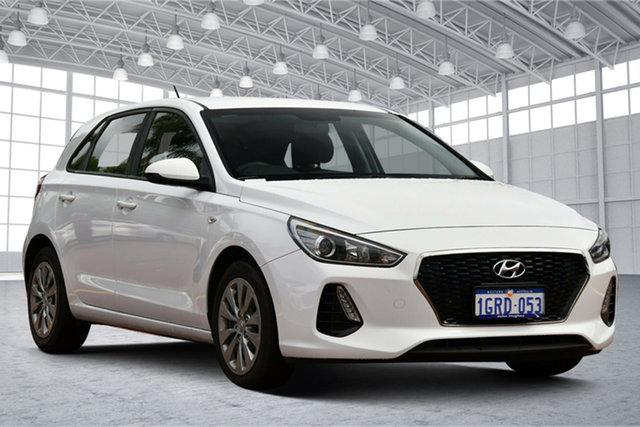 Used Hyundai i30 PD MY18 Go Victoria Park, 2018 Hyundai i30 PD MY18 Go White 6 Speed Sports Automatic Hatchback