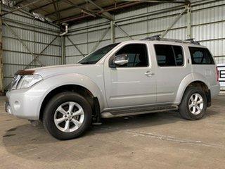 2011 Nissan Pathfinder R51 MY10 ST-L Silver 6 Speed Manual Wagon.