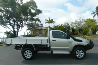 2008 Toyota Hilux KUN26R MY09 SR Silver 5 Speed Manual Cab Chassis.