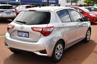 2019 Toyota Yaris NCP130R Ascent Silver 5 Speed Manual Hatchback