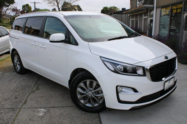 Used Kia Carnival YP MY20 SI Ferntree Gully, 2019 Kia Carnival YP MY20 SI White 8 Speed Sports Automatic Wagon