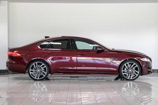 2017 Jaguar XF X260 MY17 R-Sport Red 8 Speed Sports Automatic Sedan.