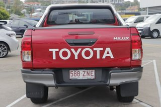 2019 Toyota Hilux GUN126R SR Double Cab Olympia Red 6 Speed Sports Automatic Utility