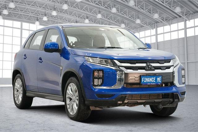 Used Mitsubishi ASX XD MY20 ES 2WD Victoria Park, 2019 Mitsubishi ASX XD MY20 ES 2WD Blue 1 Speed Constant Variable Wagon