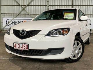 2006 Mazda 3 BK10F1 Neo White 4 Speed Sports Automatic Hatchback.