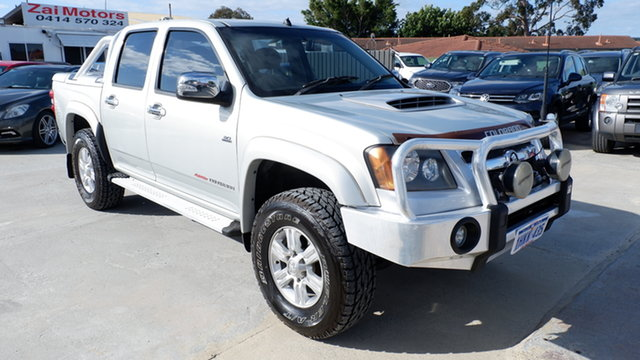 Used Holden Colorado RC MY10 LT-R Crew Cab St James, 2010 Holden Colorado RC MY10 LT-R Crew Cab Silver 4 Speed Automatic Utility