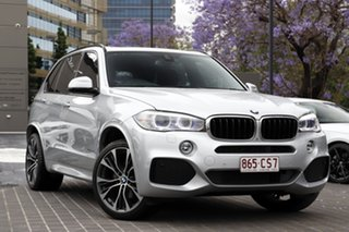2015 BMW X5 F15 sDrive25d Glacier Silver 8 Speed Automatic Wagon.