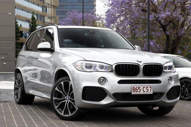 Used BMW X5 F15 sDrive25d Newstead, 2015 BMW X5 F15 sDrive25d Glacier Silver 8 Speed Automatic Wagon