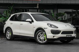 2011 Porsche Cayenne 92A MY12 S Tiptronic Hybrid White 8 Speed Sports Automatic Wagon Hybrid.