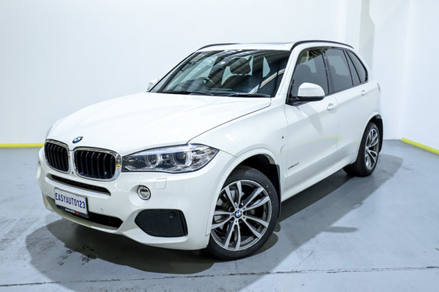 Used BMW X5 F15 sDrive25d Canning Vale, 2015 BMW X5 F15 sDrive25d White 8 Speed Automatic Wagon