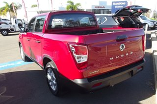2021 Ssangyong Musso Q215 MY21 ELX Crew Cab Red 6 Speed Sports Automatic Utility.