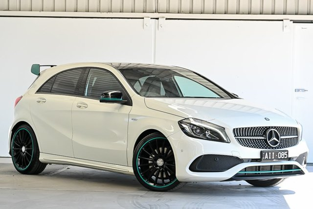 Used Mercedes-Benz A-Class W176 806MY A250 D-CT 4MATIC Sport Laverton North, 2016 Mercedes-Benz A-Class W176 806MY A250 D-CT 4MATIC Sport White 7 Speed