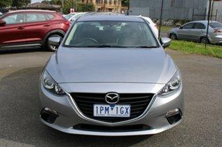 2015 Mazda 3 BM5478 Maxx SKYACTIV-Drive Silver 6 Speed Sports Automatic Hatchback.