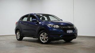 2016 Honda HR-V MY16 VTi Morpho Blue 1 Speed Constant Variable Hatchback.