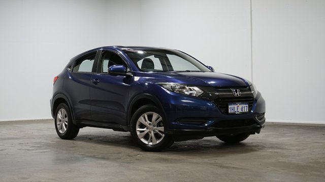 Used Honda HR-V MY16 VTi Welshpool, 2016 Honda HR-V MY16 VTi Morpho Blue 1 Speed Constant Variable Hatchback
