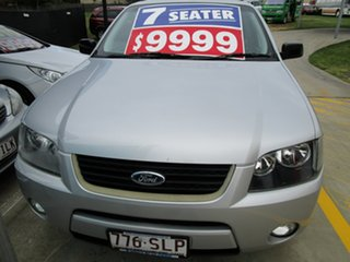 2008 Ford Territory SY SR RWD Silver 4 Speed Sports Automatic Wagon.