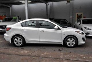 2009 Mazda 3 BL10F1 Maxx Activematic White 5 Speed Sports Automatic Sedan.
