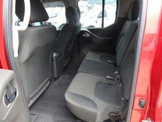 2012 Nissan Navara D40 S6 MY12 ST Red 6 Speed Manual Utility