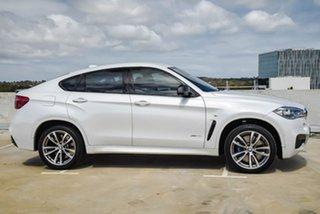 2016 BMW X6 F16 xDrive40d Coupe Steptronic White 8 Speed Sports Automatic Wagon.