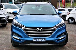 2015 Hyundai Tucson TLE Highlander AWD Blue 6 Speed Sports Automatic Wagon.