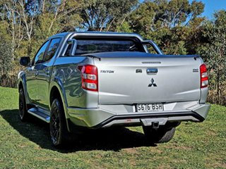 2017 Mitsubishi Triton MQ MY17 Exceed Double Cab Sterling Silver 5 Speed Sports Automatic Utility