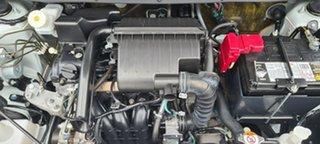2015 Mitsubishi Mirage LA MY15 ES White 1 Speed Constant Variable Sedan.