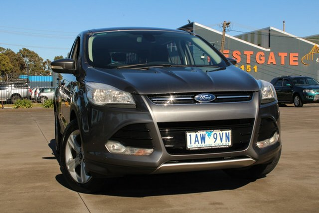 Used Ford Kuga TF Ambiente (FWD) West Footscray, 2013 Ford Kuga TF Ambiente (FWD) Grey 6 Speed Manual Wagon