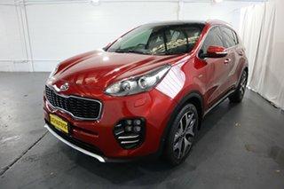 2016 Kia Sportage QL MY16 Platinum (AWD) Red 6 Speed Automatic Wagon