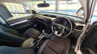 2018 Toyota Hilux GUN136R SR5 Double Cab 4x2 Hi-Rider Silver 6 Speed Sports Automatic Utility
