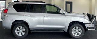 2012 Toyota Landcruiser Prado KDJ150R GXL Silver 5 Speed Sports Automatic Wagon.