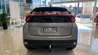 2018 Mitsubishi Eclipse Cross YA MY19 Black Edition 2WD Silver 8 Speed Constant Variable Wagon