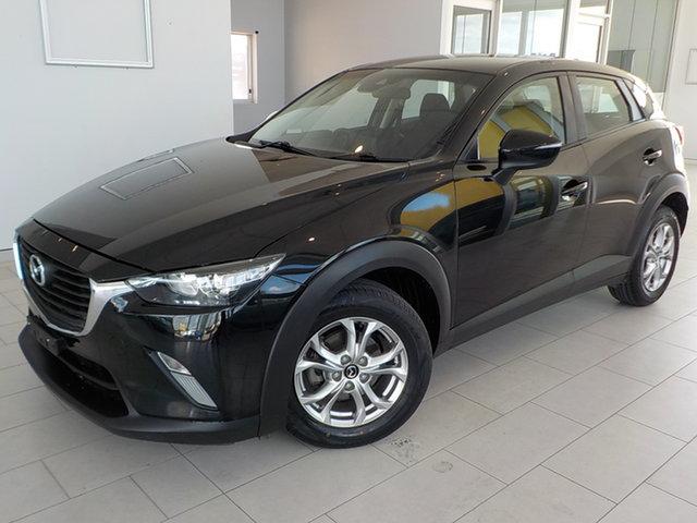 Used Mazda CX-3 DK2W76 Maxx SKYACTIV-MT Garbutt, 2017 Mazda CX-3 DK2W76 Maxx SKYACTIV-MT Black 6 Speed Manual Wagon