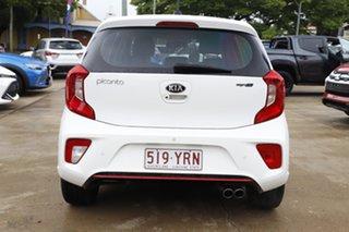 2018 Kia Picanto JA MY19 GT-Line White 4 Speed Automatic Hatchback