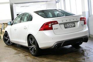 2016 Volvo S60 F MY17 T6 R-Design White 8 Speed Automatic Sedan.