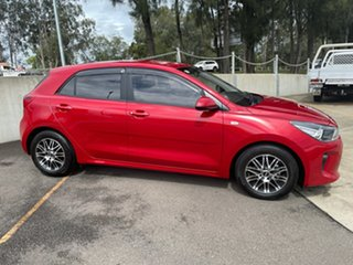 2018 Kia Rio YB MY18 S Signal Red 4 Speed Sports Automatic Hatchback