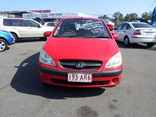 2010 Hyundai Getz Red Automatic Hatchback