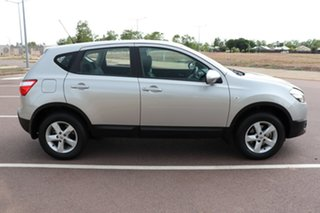 2012 Nissan Dualis J10W Series 3 MY12 ST Hatch X-tronic 2WD Silver 6 Speed CVT Auto Sequential Wagon.