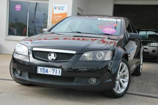 2010 Holden Calais VE II V Black 6 Speed Automatic Sedan.